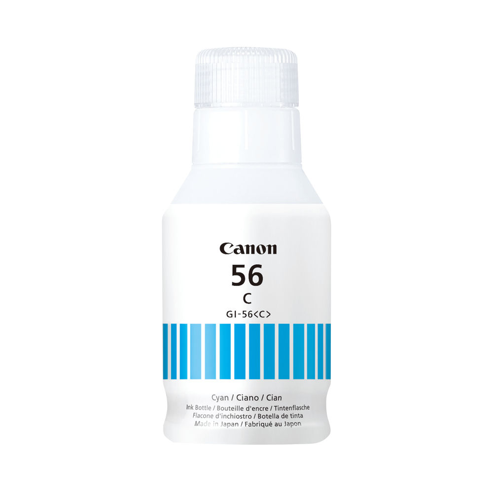 Canon GI-56 Cyan Ink Bottle – 4430C001