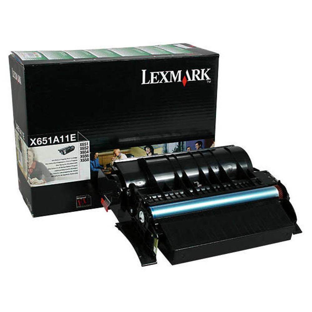 Lexmark X65X Black Toner Cartridge - X651A11E