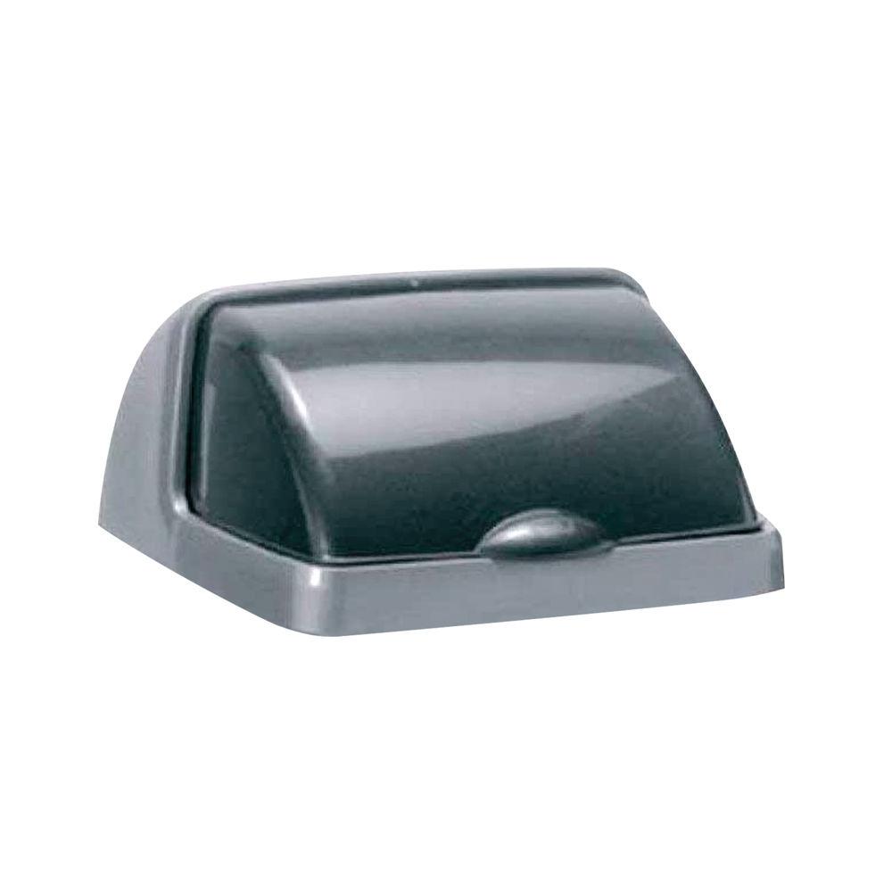 Addis 25 Litre Rolltop Bin Lid Metallic 9753MET
