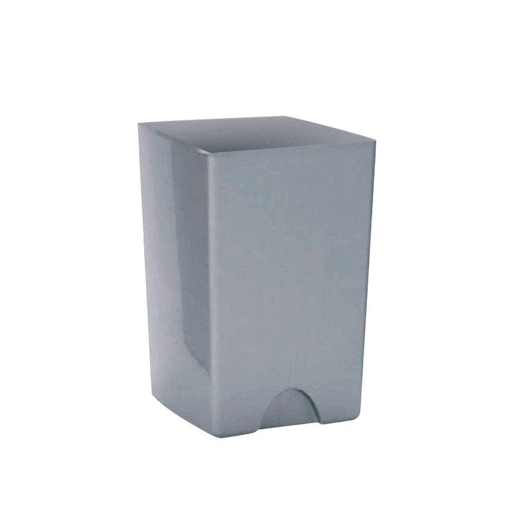 Addis 25 Litre Rolltop Bin Base Metallic 9751MET
