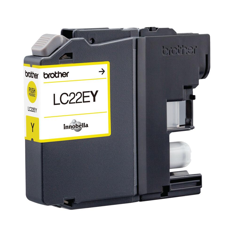 Brother Yellow LC22EY Inkjet Cartridge