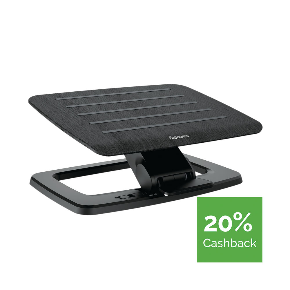 Fellowes Hana Black Adjustable Foot Support – 8055201