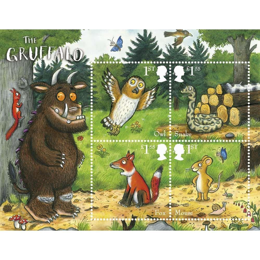 The Gruffalo Miniature Sheet