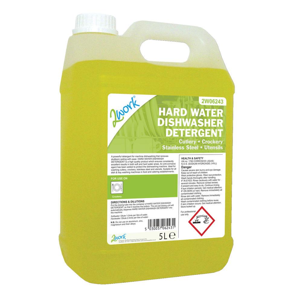 2Work Dishwasher Liquid 5 Litre - 303TFN