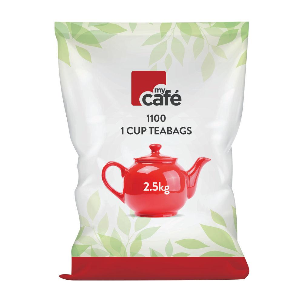 Mycafé One Cup Tea Bags, Pack of 1100 - T0260