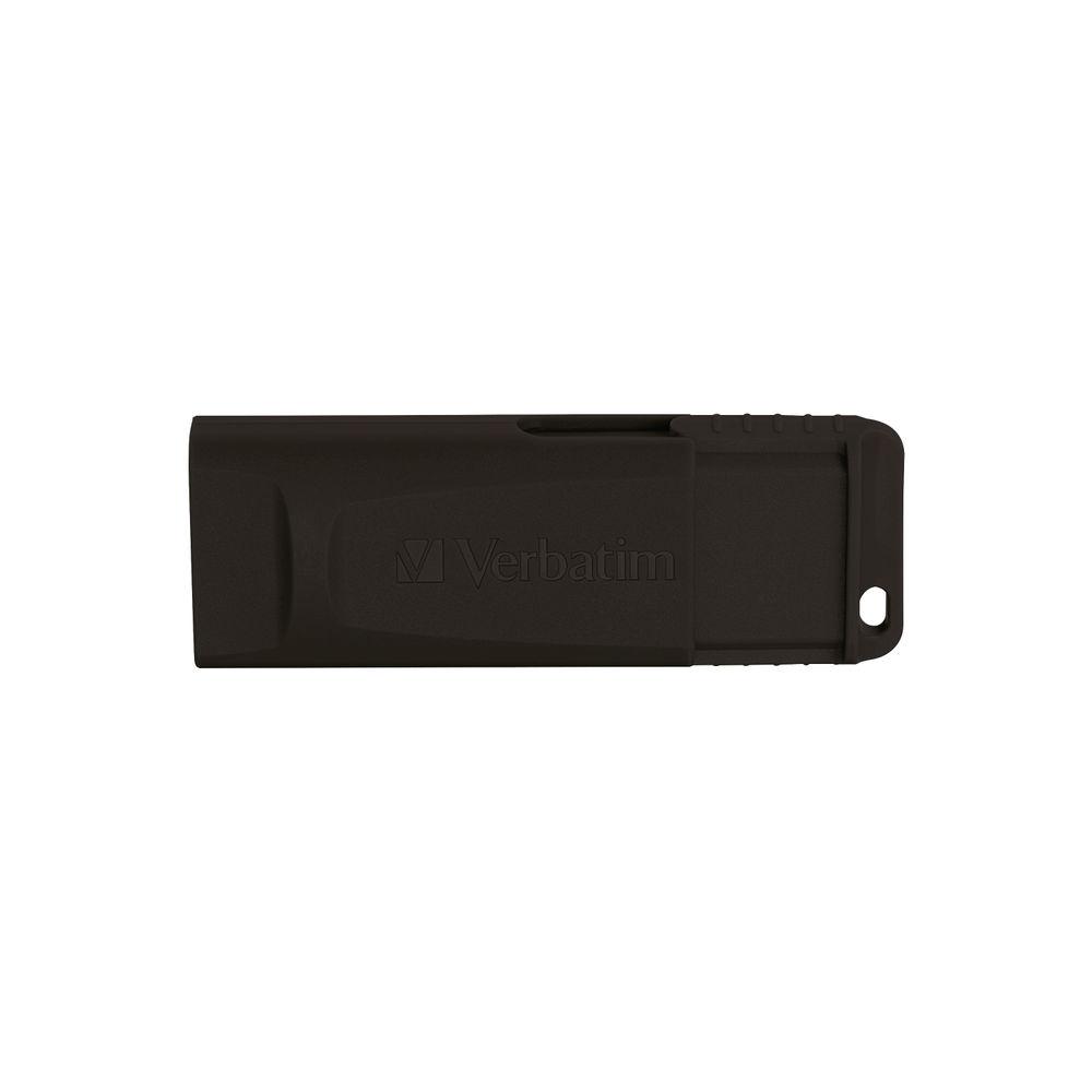 Verbatim 128GB Slider USB 2.0 Drive - 49328