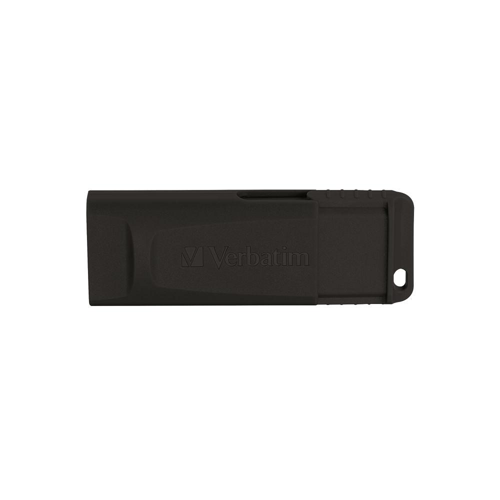 Verbatim 64GB Slider USB 2.0 Drive - 98698