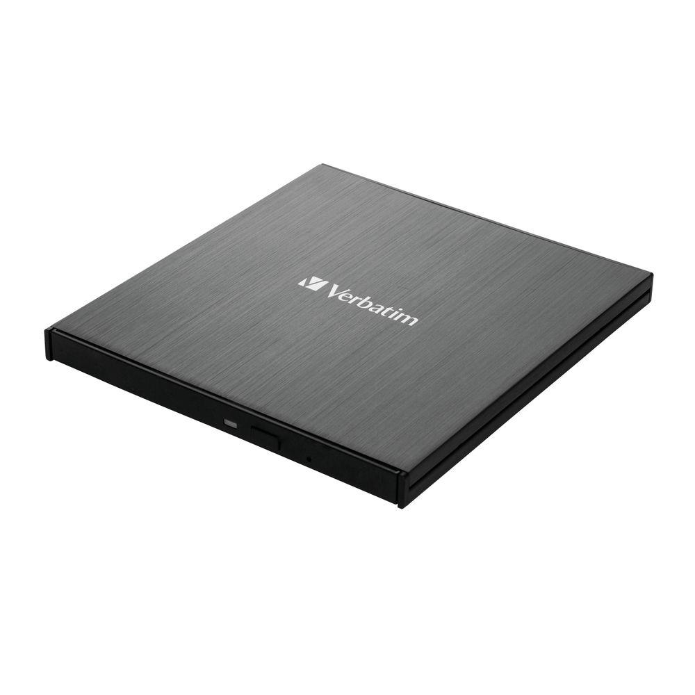 Verbatim USB 3.0 Blu-ray External Slimline Writer - 43890