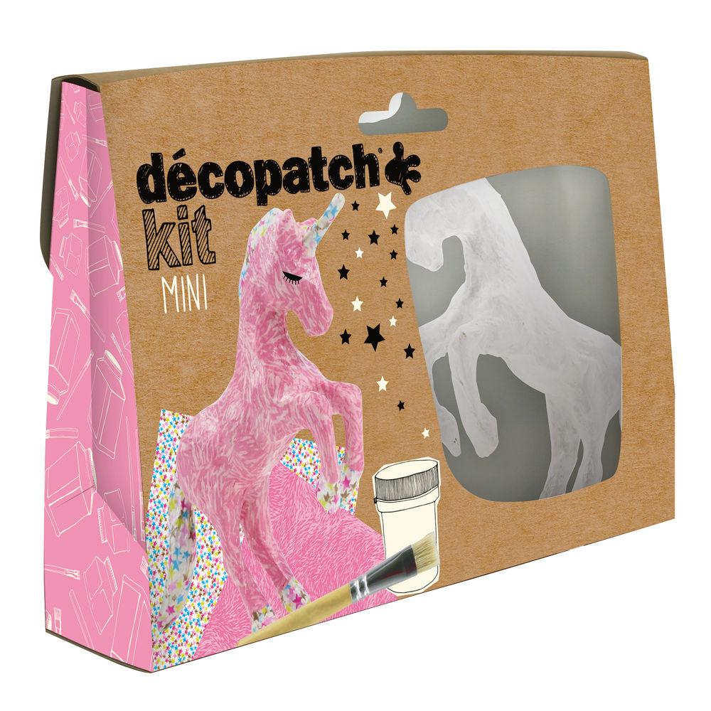 Decopatch Unicorn Mini Kits, Pack of 5 - KIT009O