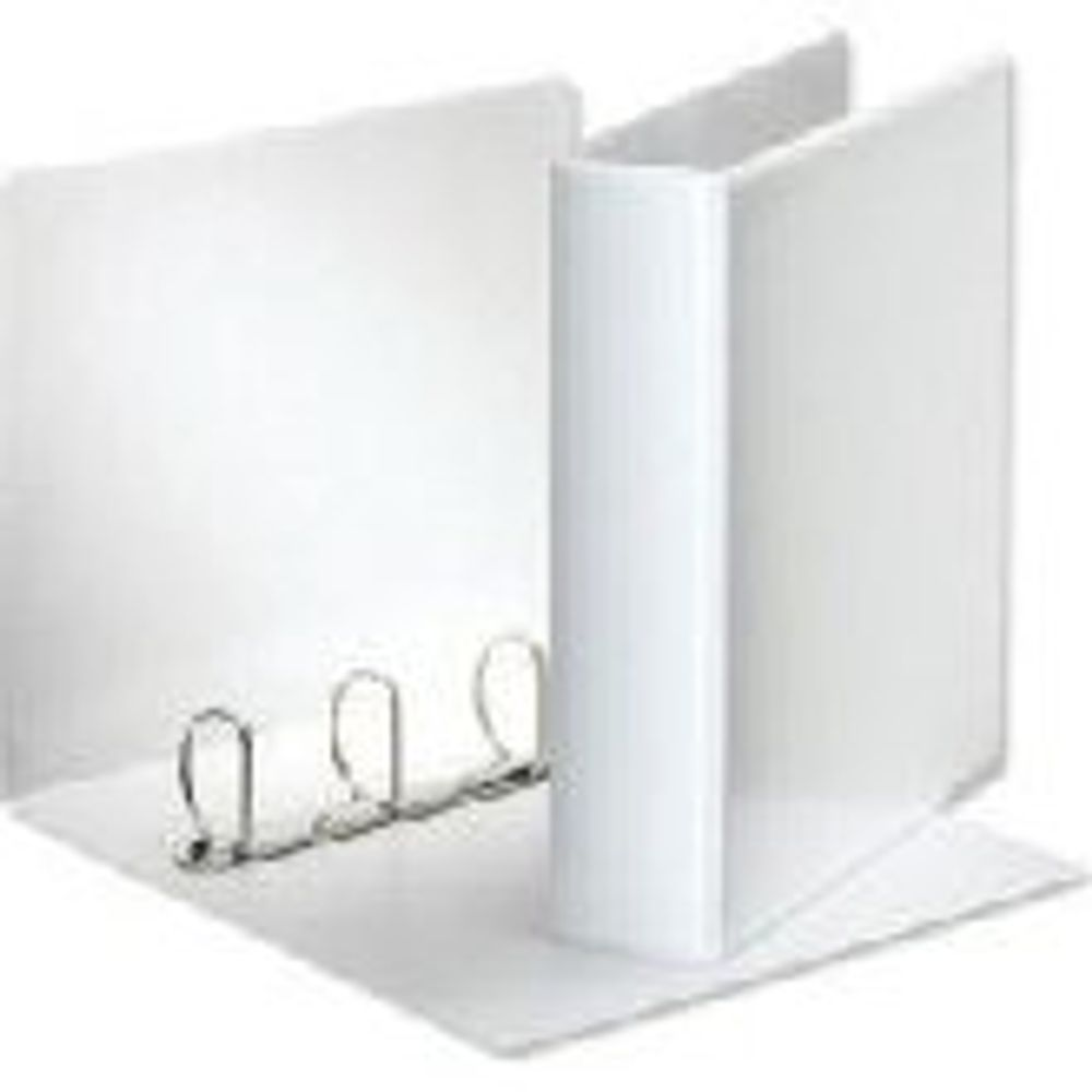 White A4 50mm 4 D-Ring Presentation Binders, Pack of 10 - WX01333