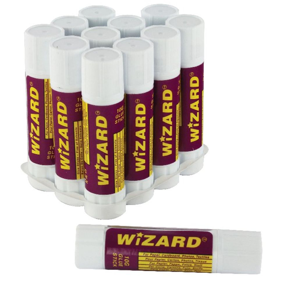 Small 10g Glue Sticks, Pack of 12 - WX10504