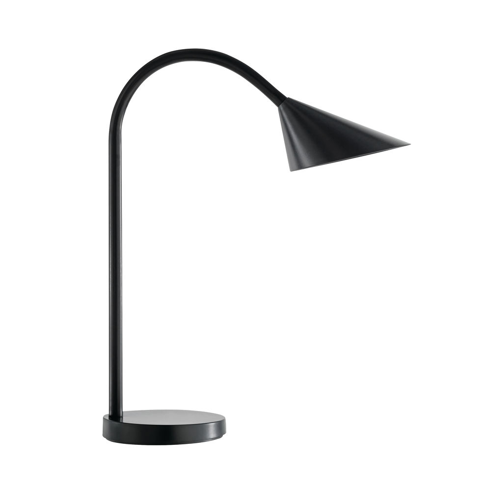 Unilux Black Sol Flexible LED 4 Watt Desk Lamp - 400086979