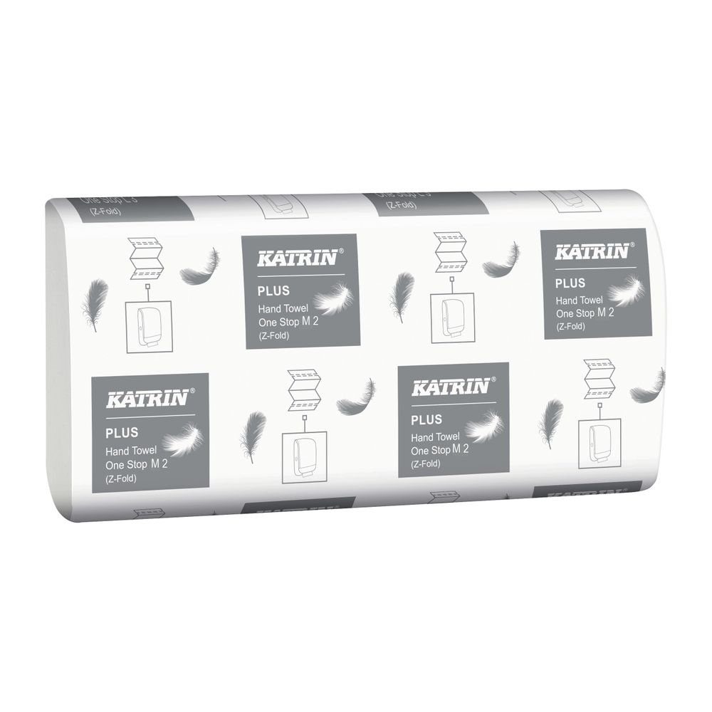 Katrin Plus One Stop M2 Hand Towels (Pack of 21) - 345379