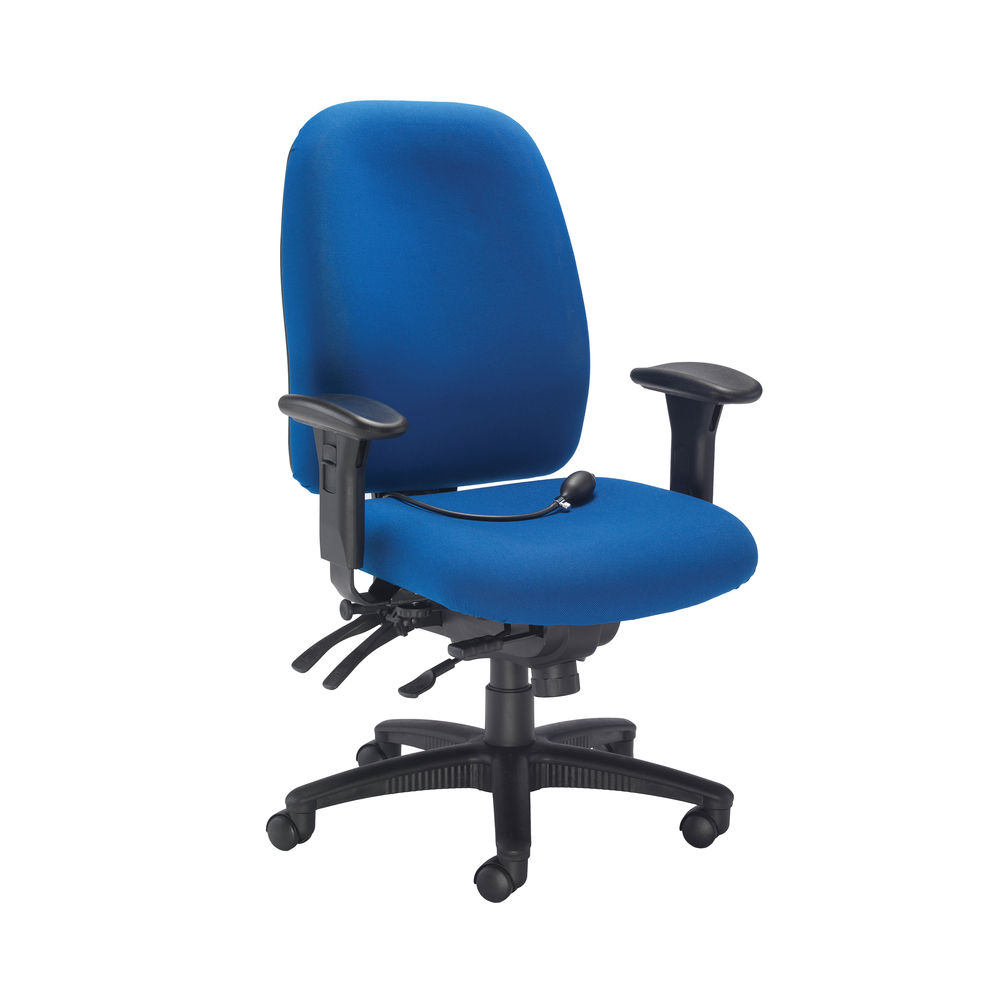 Avior Snowdon Blue Heavy Duty Office Chair – CH0903