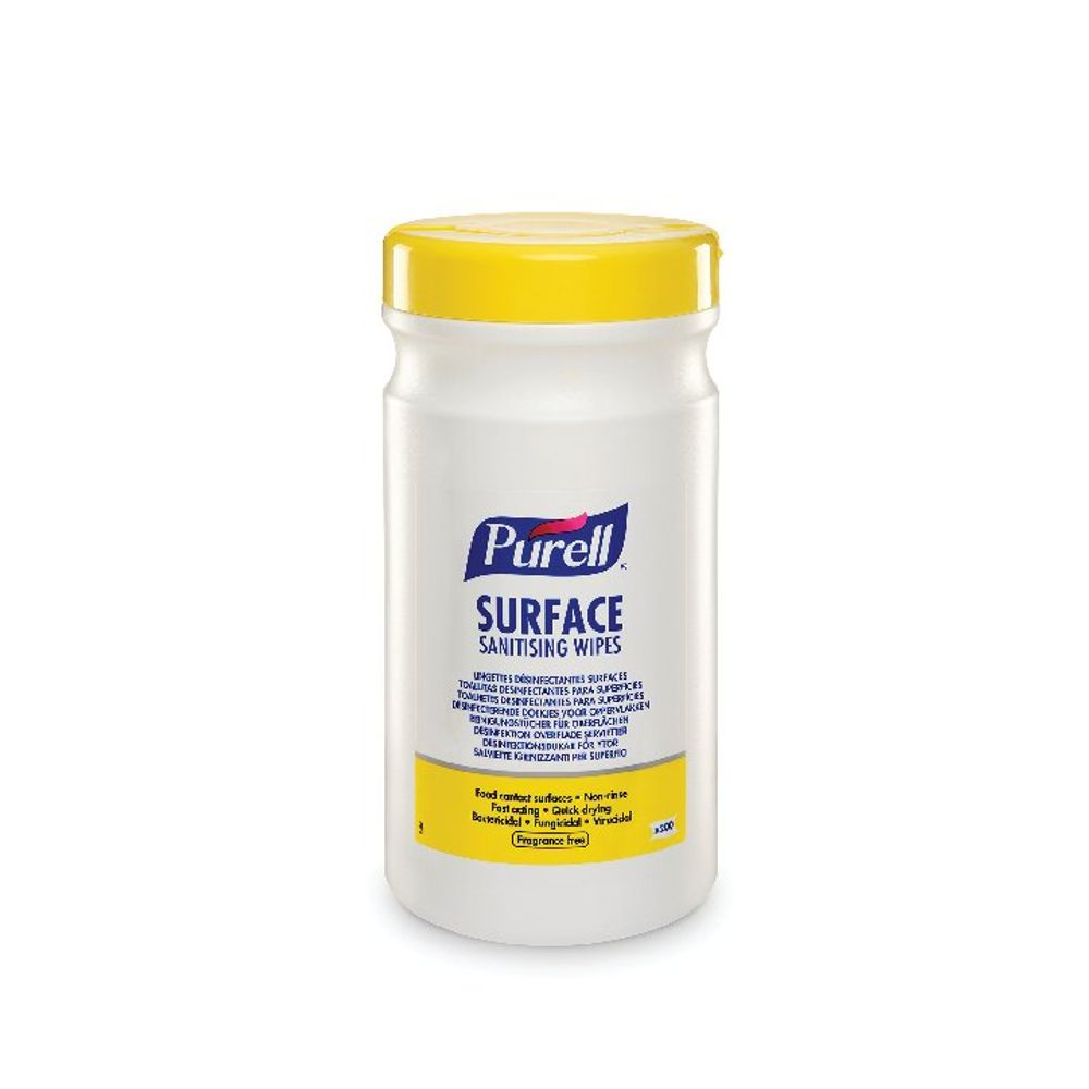 Purell Surface Sanitising Wipes (Pack of 200) 95104-06-EEU