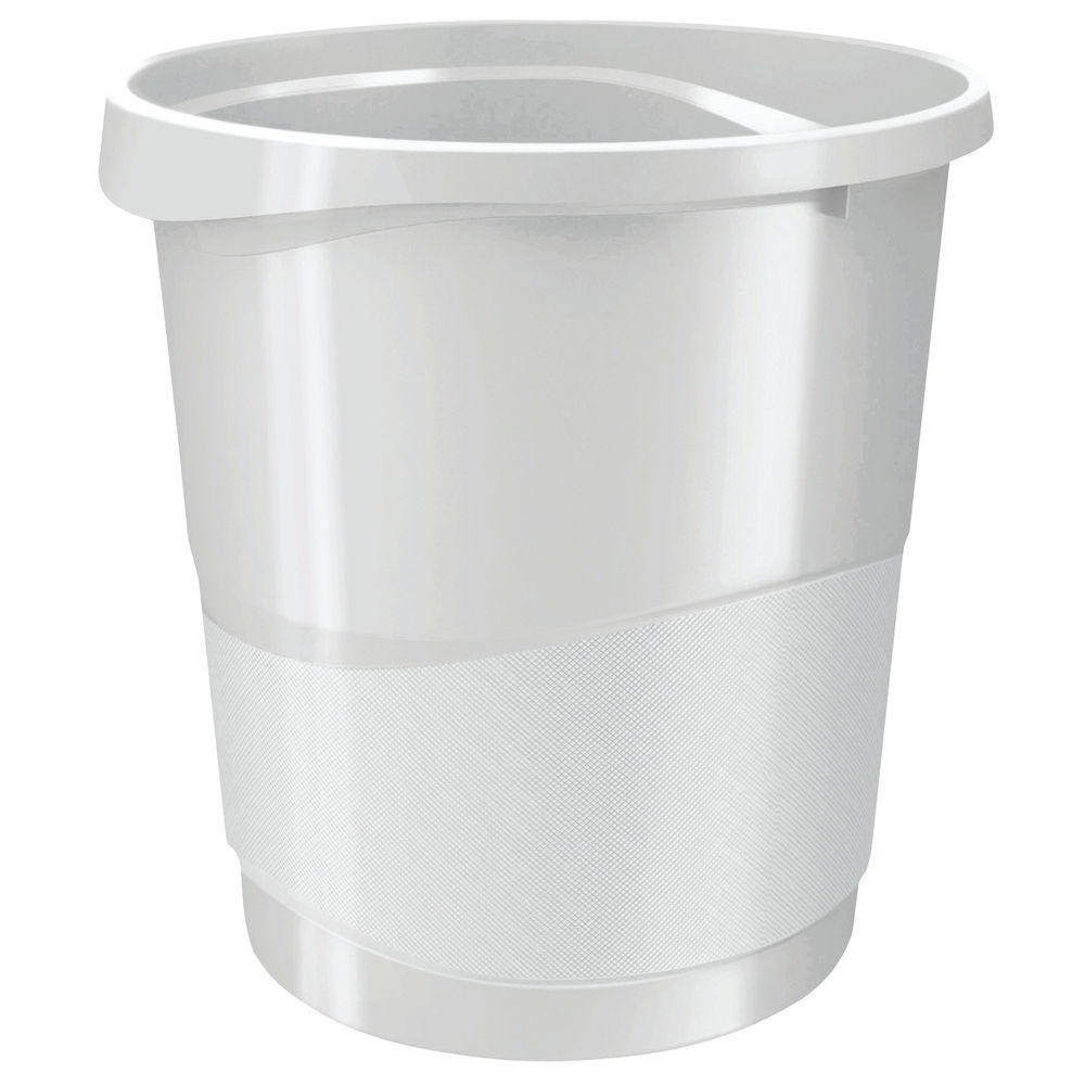 Rexel Choices Waste Bin White 2115620