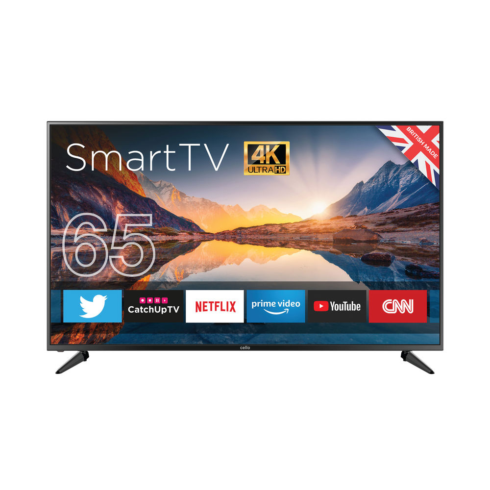 Cello 65 Inch Ultra HD LED Smart Android TV 4K C6520RTS4K