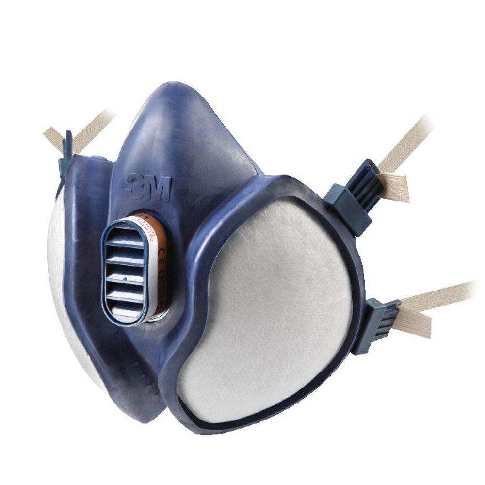 3M Respirator Half Mask Lightweight Blue 4251