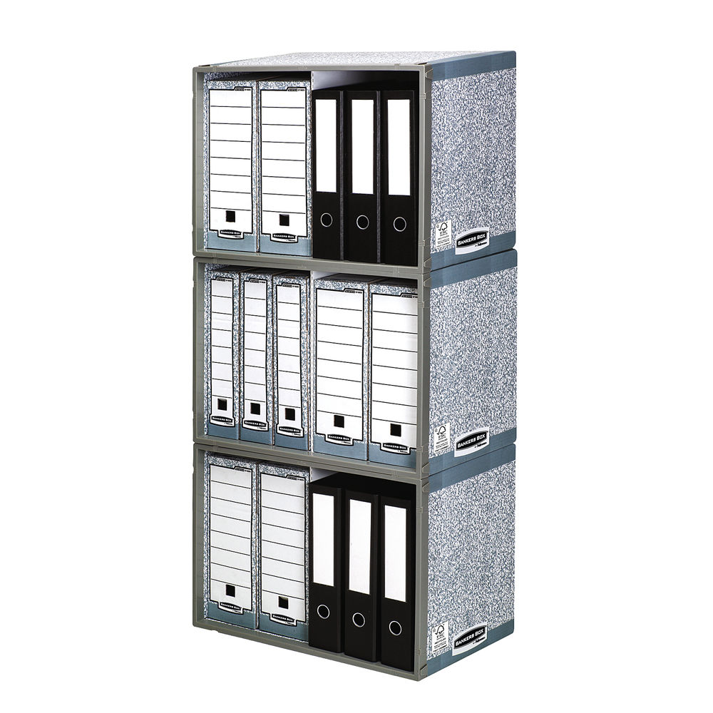 Bankers Box System Stax File Store - Pack of 5 - 01850