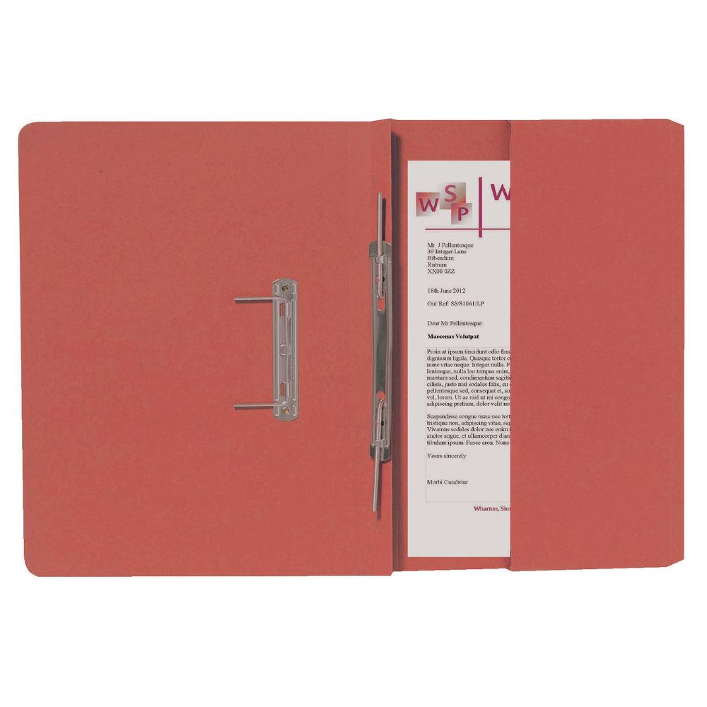 Guildhall Orange Foolscap Right Hand Pocket Spiral File Pack of 25 211/9063Z
