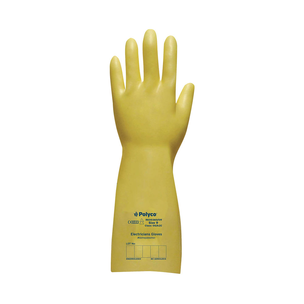 KF PolyCo Electricians Gauntlets S9 RE0360/09 (Pack of 2)