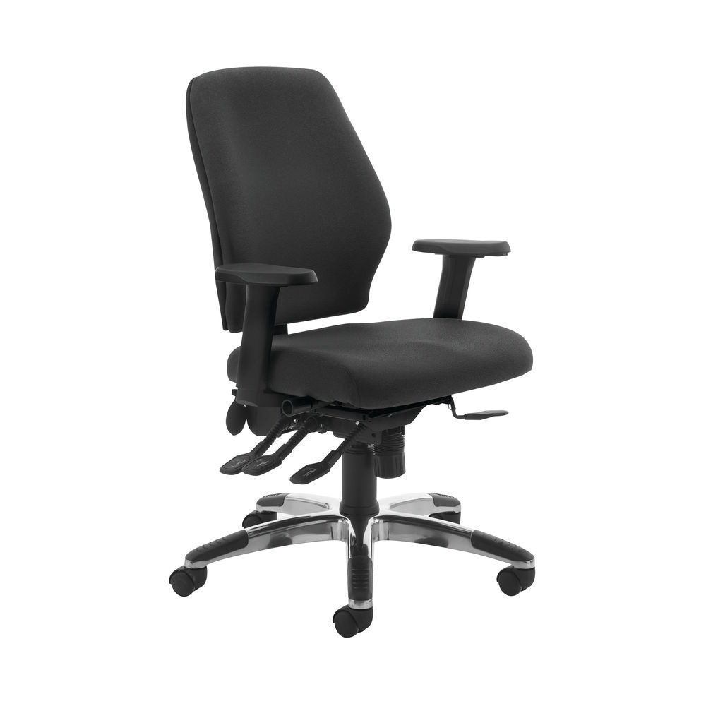 Cappela Agility Black High Back Posture Office Chair