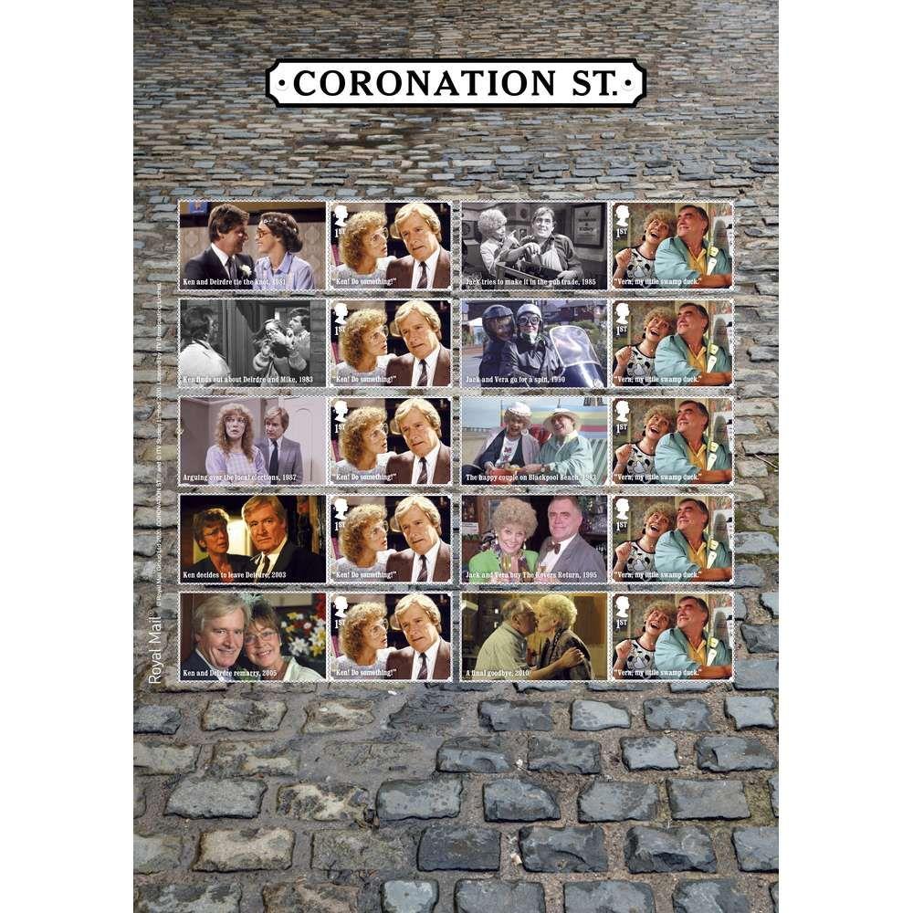 The Coronation Street Collectors Sheet