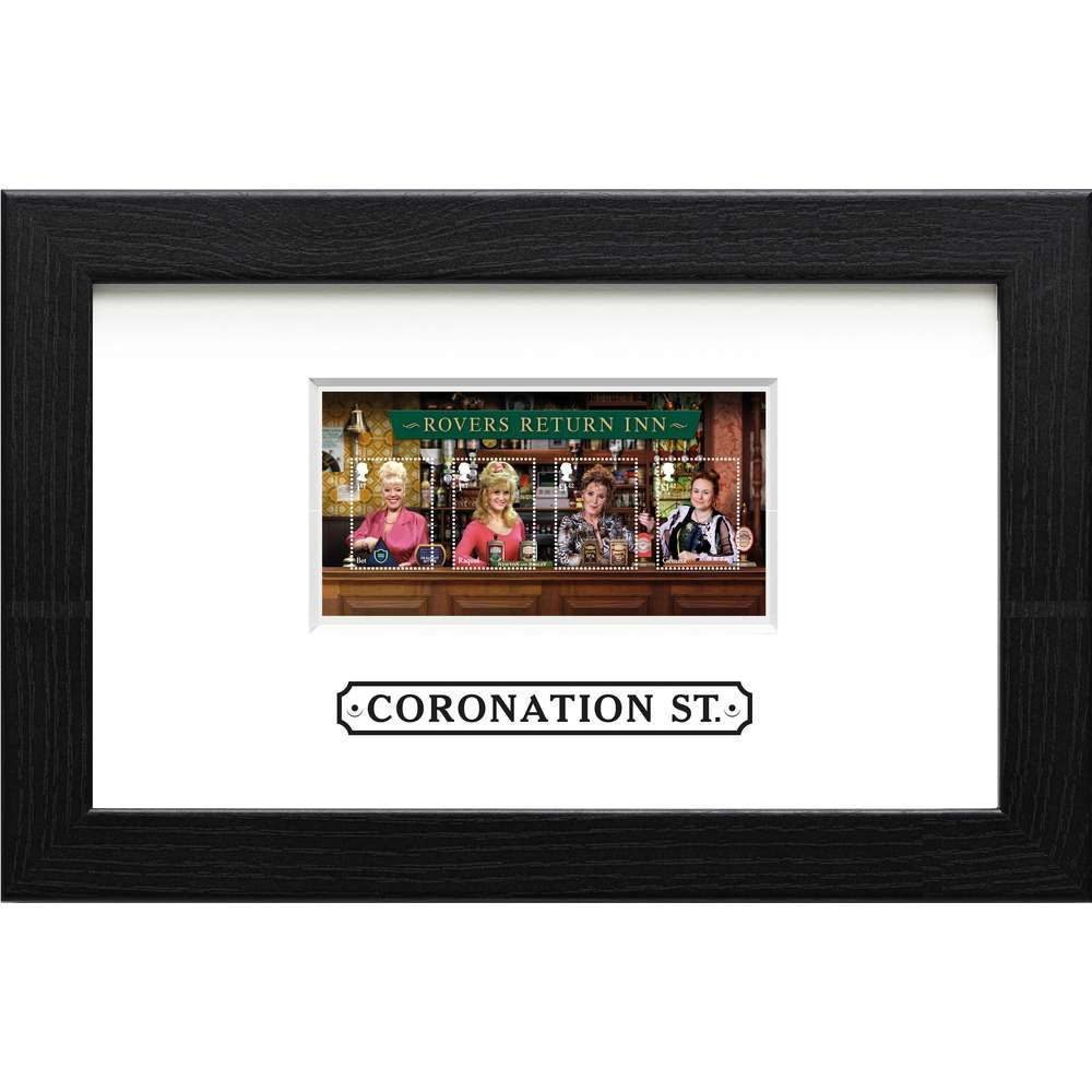 The Coronation Street Framed Miniature Sheet