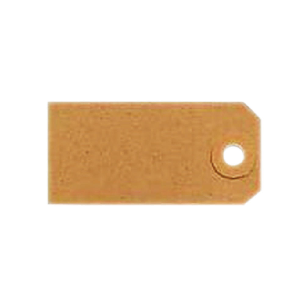 Unstrung Tags 4A 108 x 54mm Buff Single (Pack of 1000) TG8024