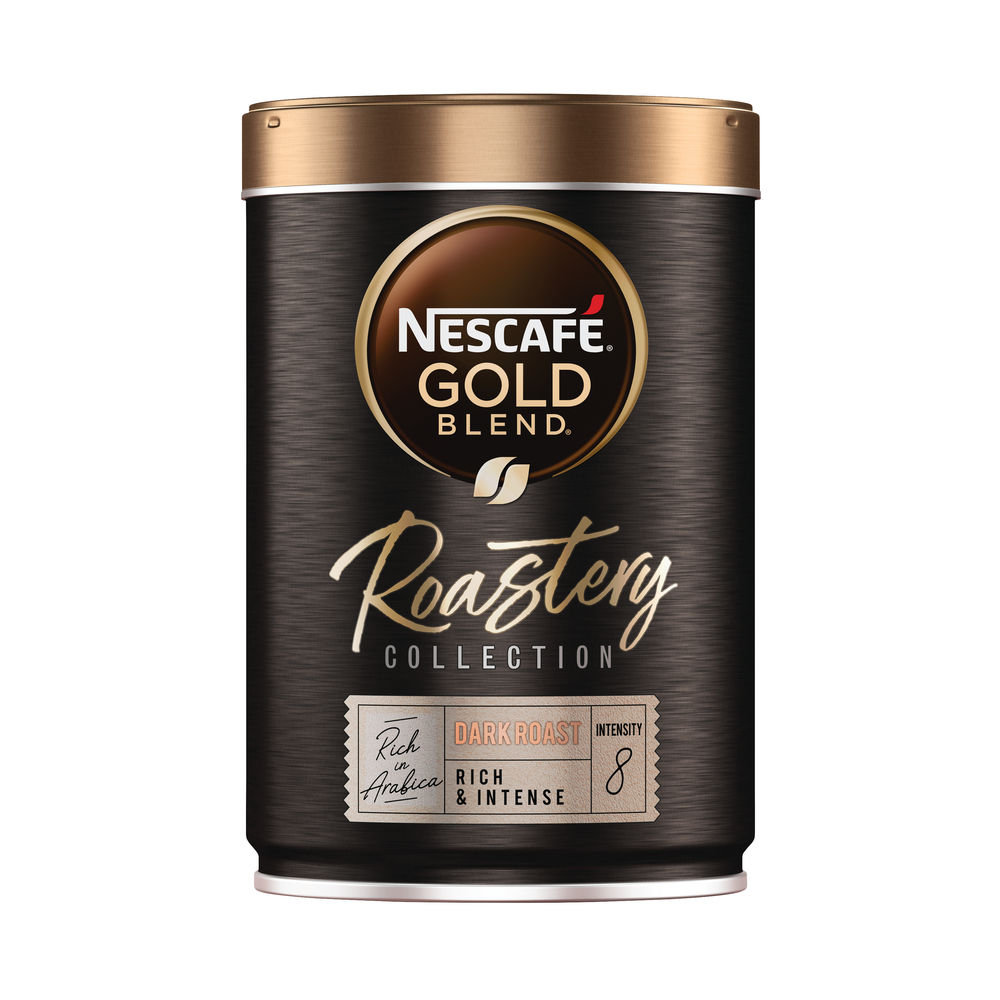 Nescafe Gold Blend Roastery Collection Dark Roast Instant Coffee 100g 12465134
