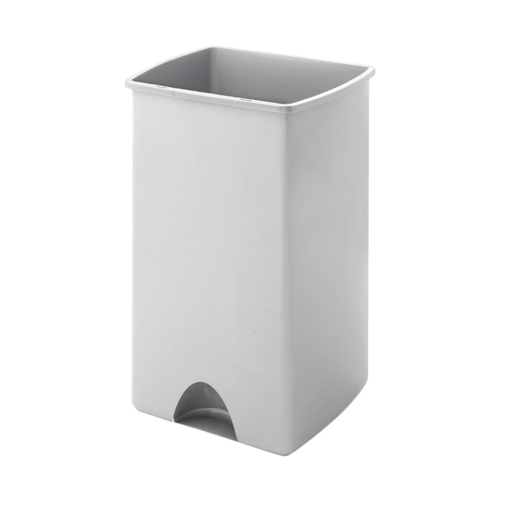 Addis 50 Litre Rolltop Bin Base Metallic 9756MET