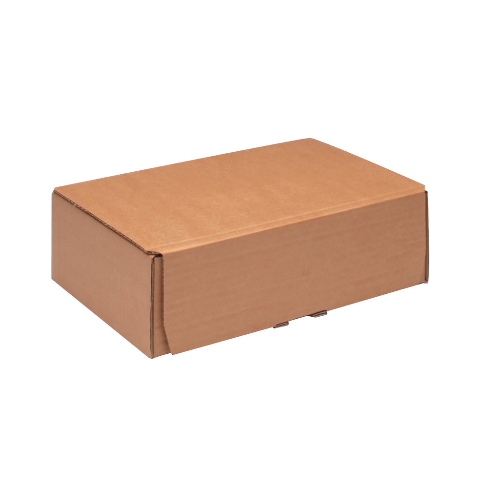 245 x 150mm Brown Mailing Boxes, Pack of 20 - 43383249