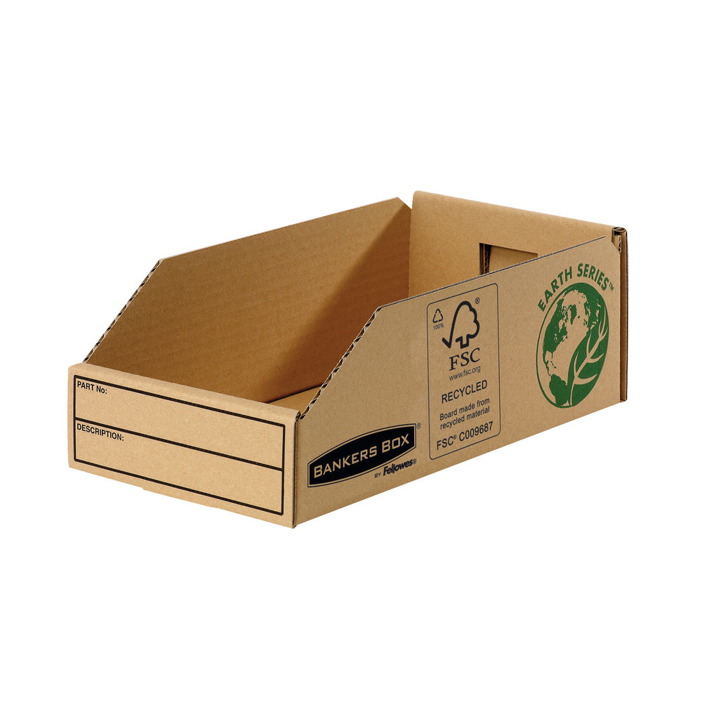 Bankers Box 147mm Earth Series Parts Bins, Pack of 50 - 7354