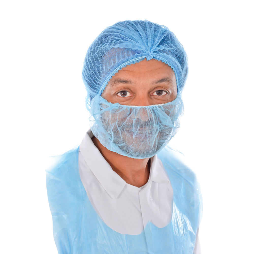 Blue Beard Covers (Pack of 1000) – WX07665