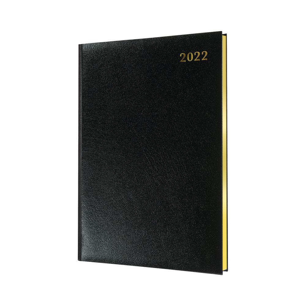 Collins Quarto Diary Week To View Appointment Black 2022 QB7