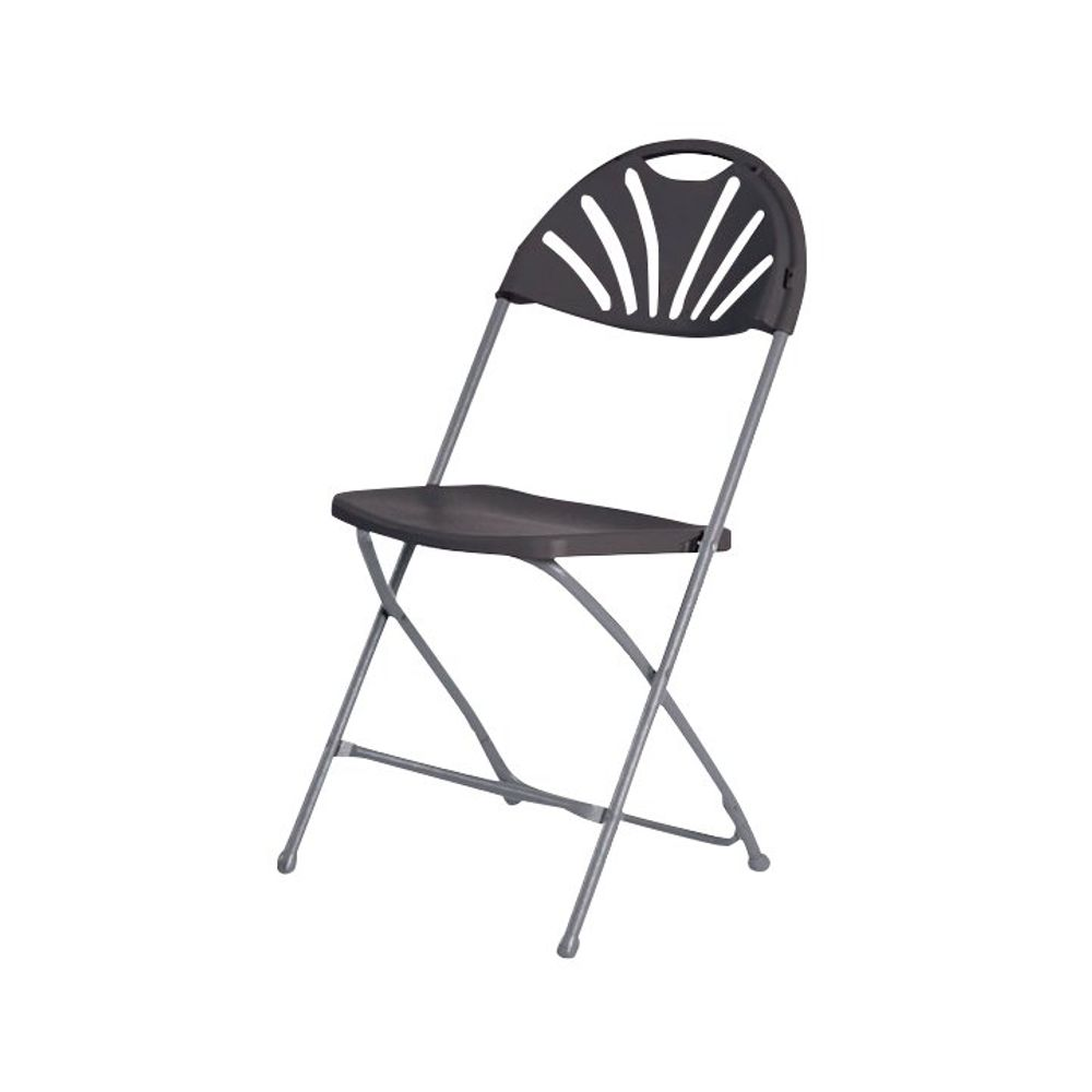 Titan 440mm Charcoal Folding Chair