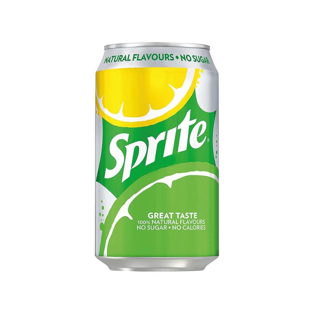Sprite Zero 330ml Cans (Pack of 24) - 100244
