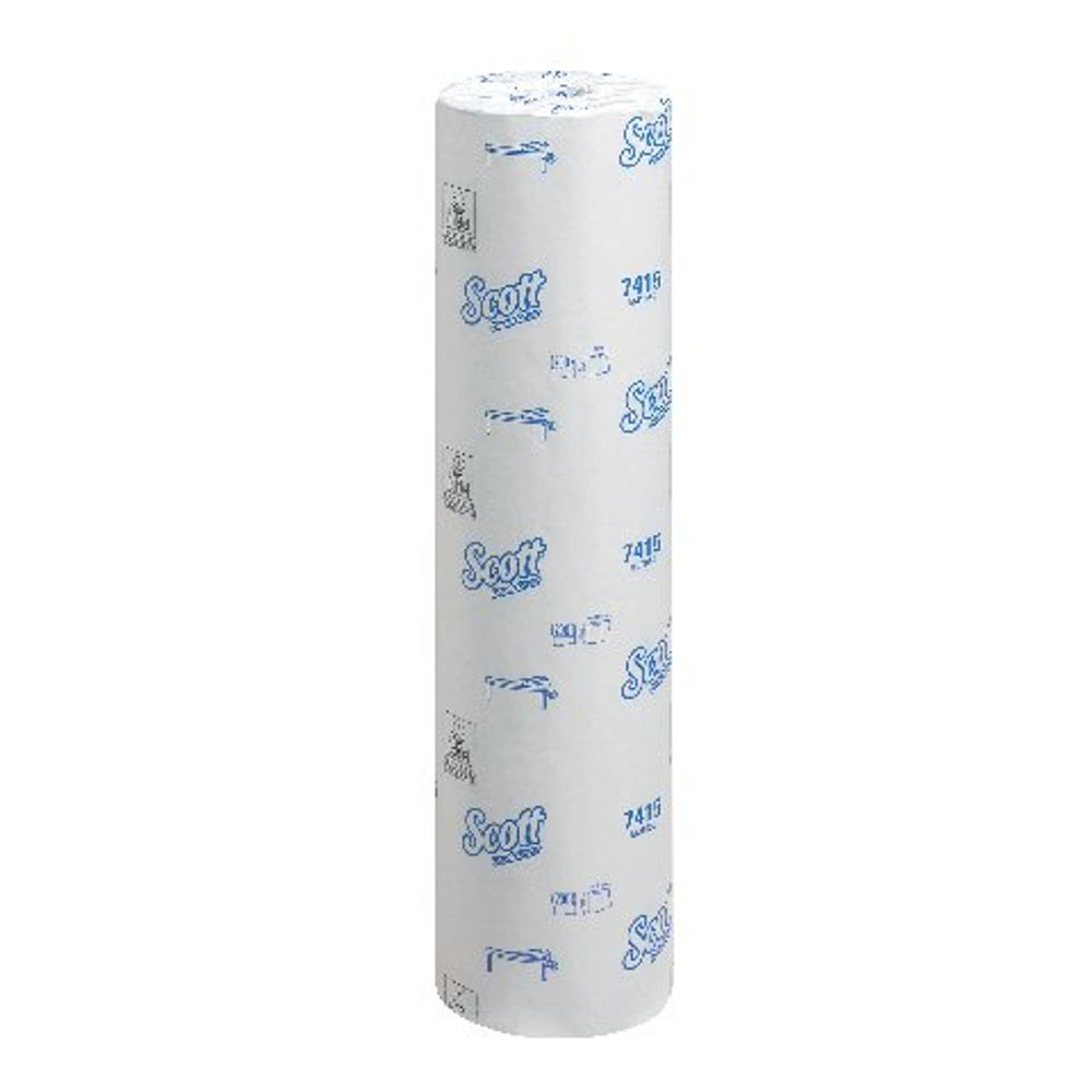 Wypall L20 White Wiper Couch Rolls, Pack of 6 - 7415