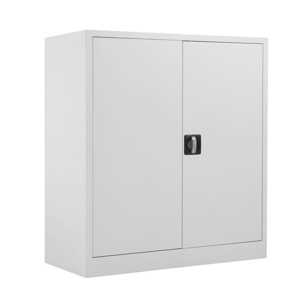 Talos 1000mm White Double Door Stationery Cupboard