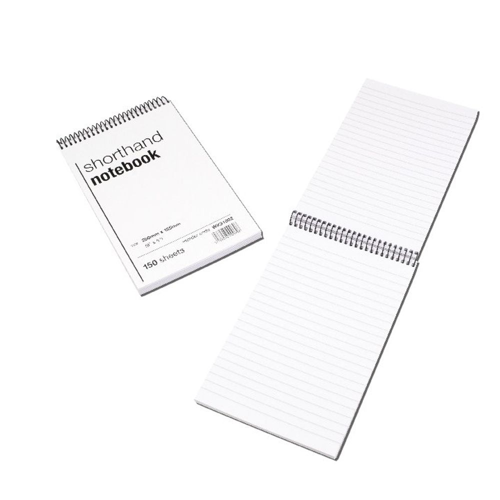 Spiral Shorthand Notebooks (Pack of 10) – WX31002