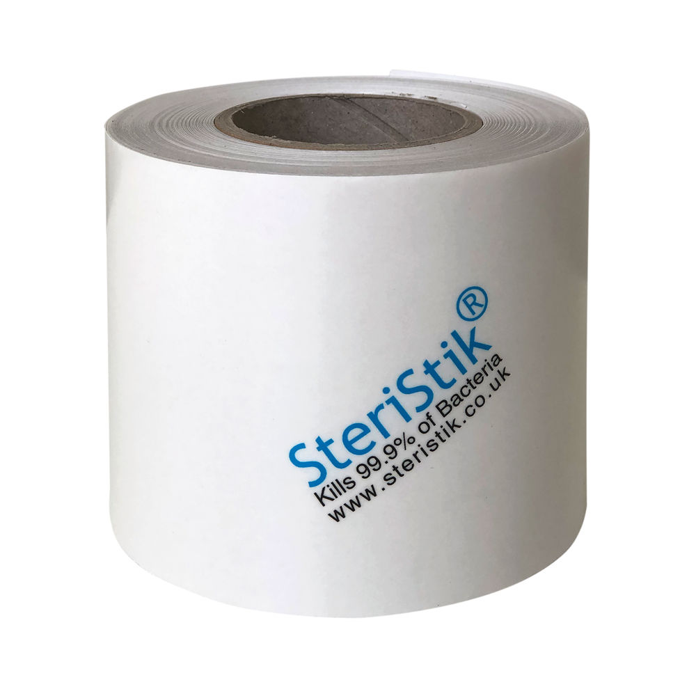 Deflecto SteriStik Antimicrobial Surface Covering 75mm x 25m STT-75