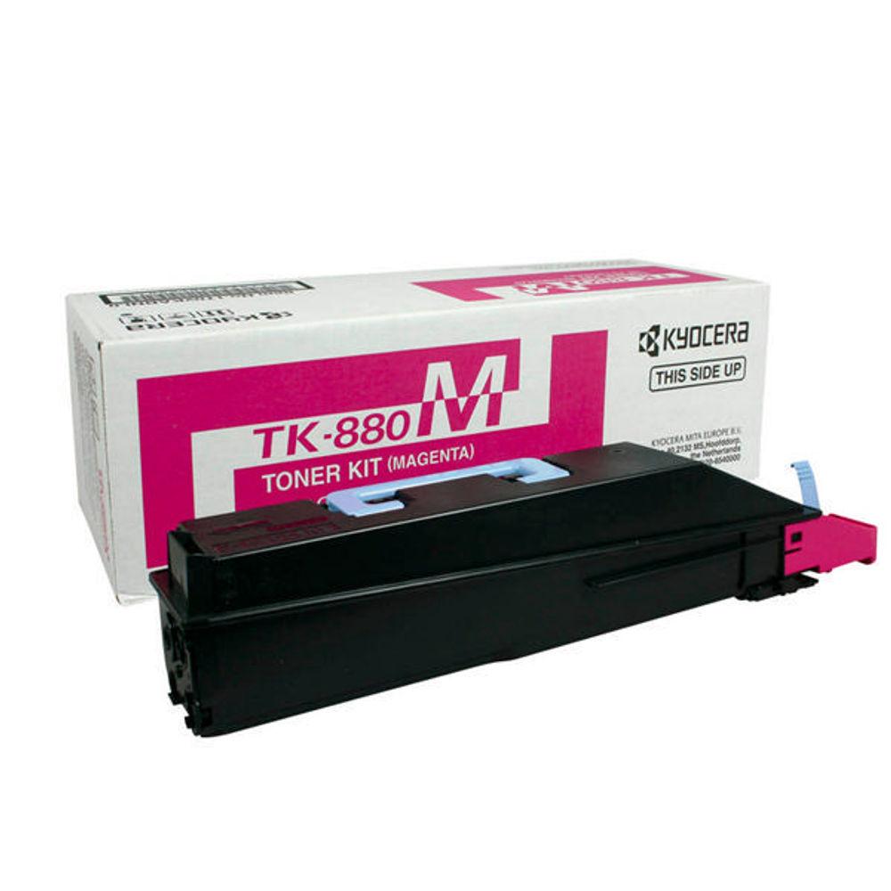 Kyocera FS-C8500DN Magenta Toner Cartridge - TK-880M