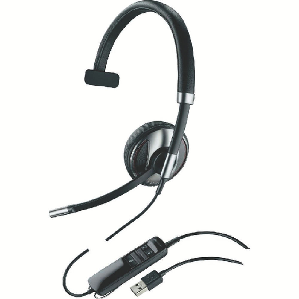 Plantronics Blackwire C710 Monaural Headset - 87505-02