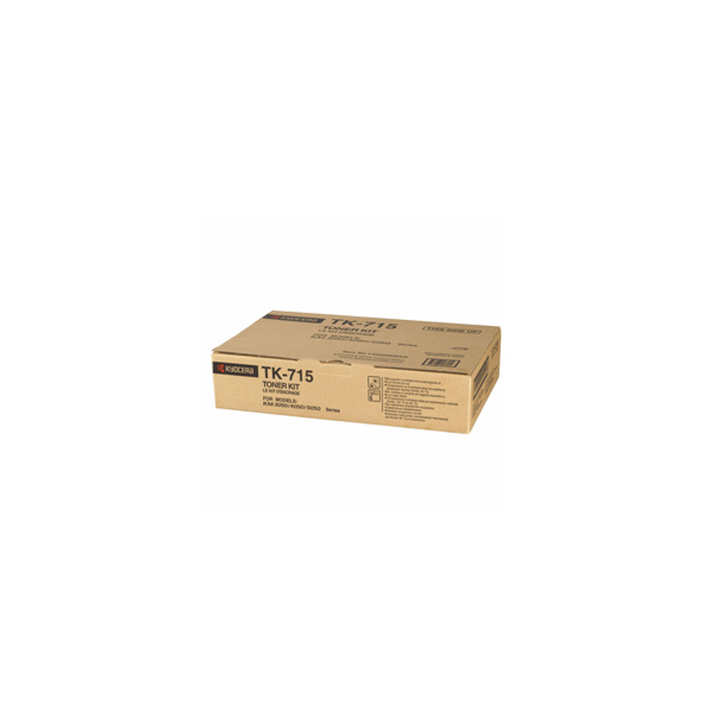 Kyocera TK715 Black Toner Cartridge - TK-715