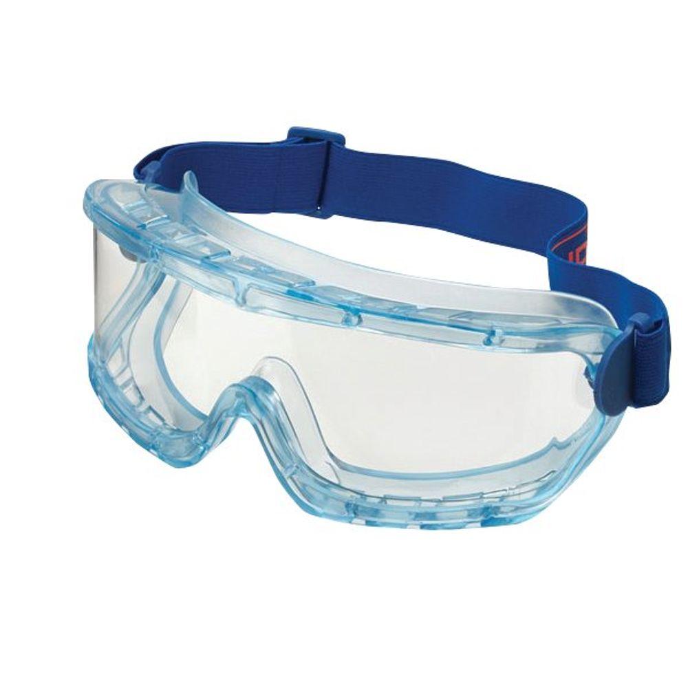 B-Brand Blue Premium Safety Goggles - BBPGBF