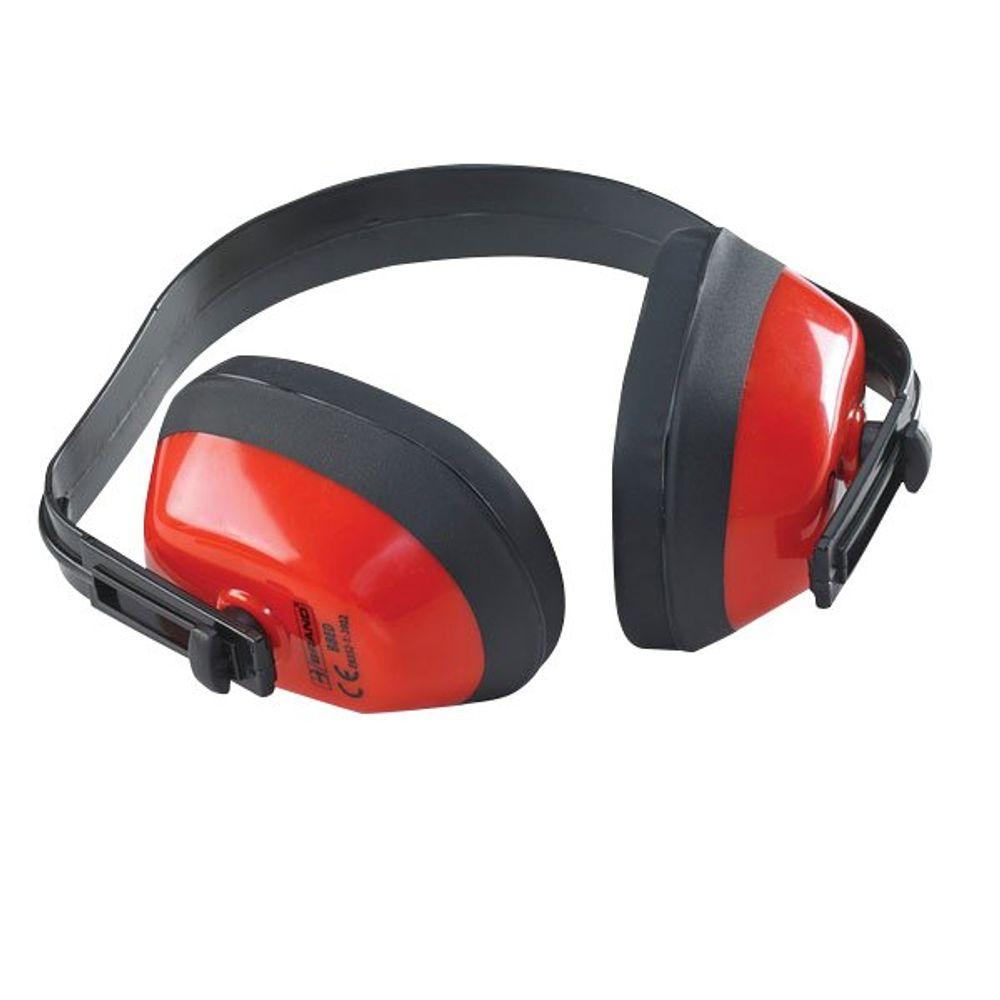 B-Brand Red SNR27 Ear Defenders - BBED