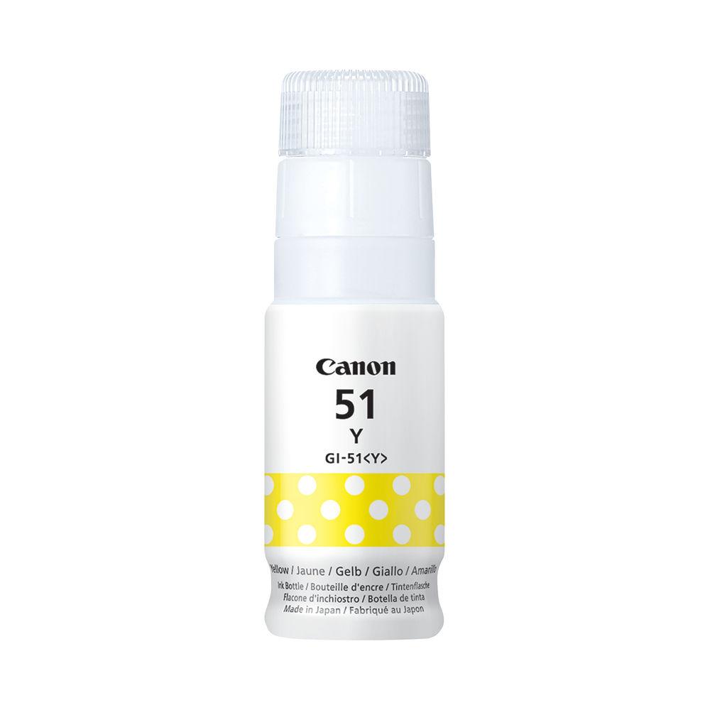 Canon GI-51 Yellow Ink Bottle 4548C001