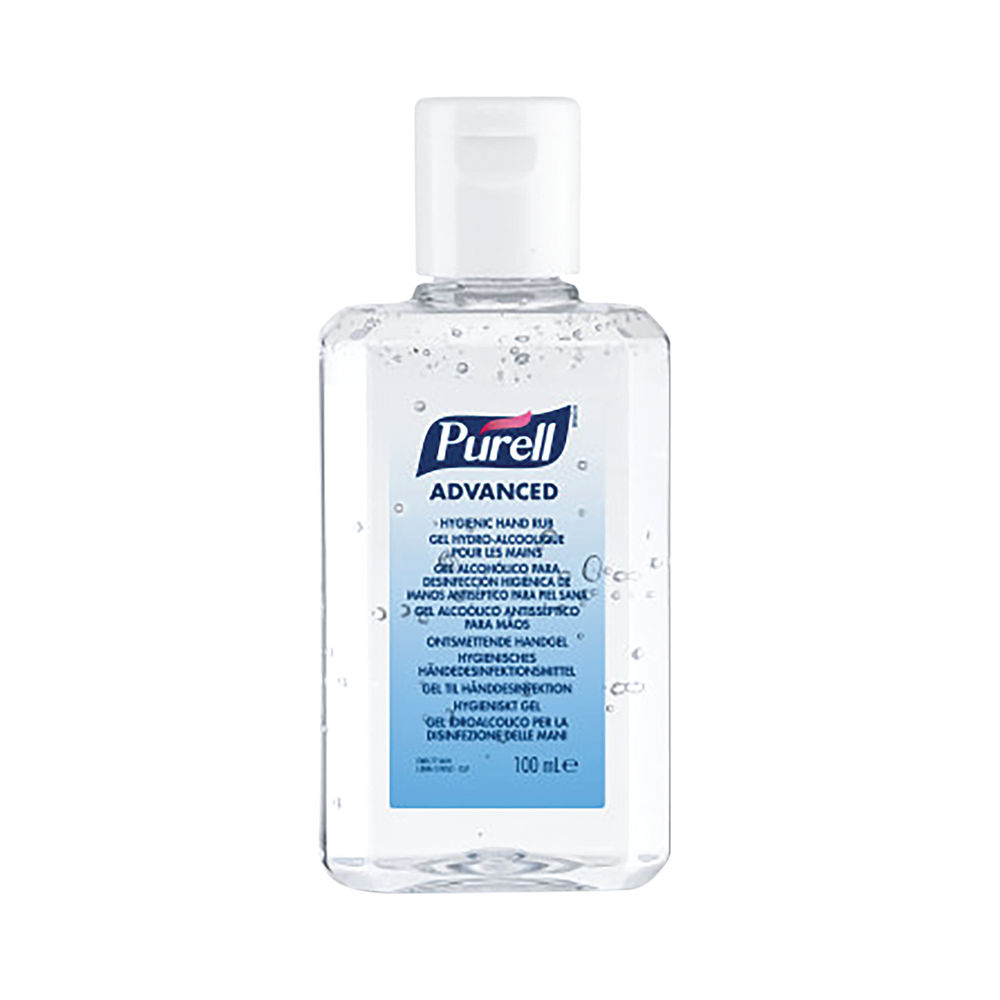 Purell 100ml Hand Rub, Pack of 24 - 9661-24-EEU00