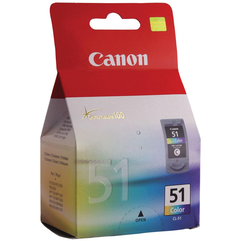 Canon CL-51 Colour Ink Cartridge - 0618B001