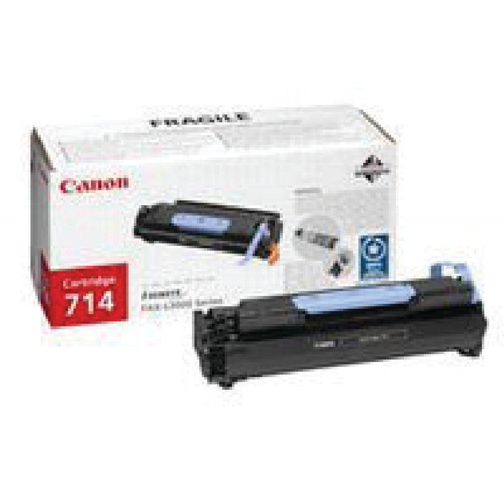 Canon 714 Black Laser Toner Cartridge 1153B002AA